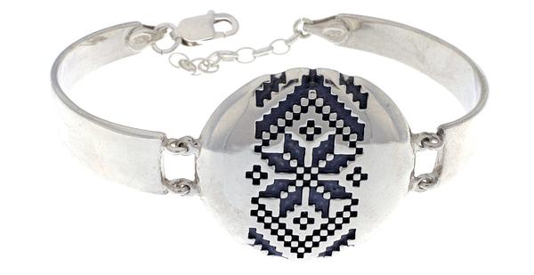 Сребърна гривна 201205