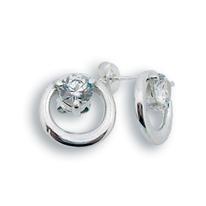 Oбици с камъни от сребро - 114276