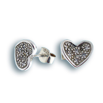 Oбици с камъни от сребро - 138271