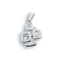 Висулки от сребро без камък - 181735