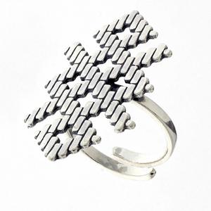 Сребърни пръстени без камък - 1546104