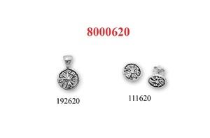 Сребърни бижута - комплект 8000620
