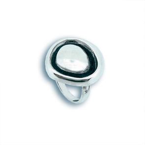 Сребърен пръстен без камък 1514975