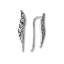 Oбици с камъни от сребро - 139273