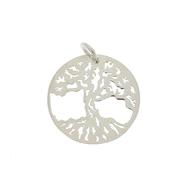 Висулки от сребро без камък - 603010