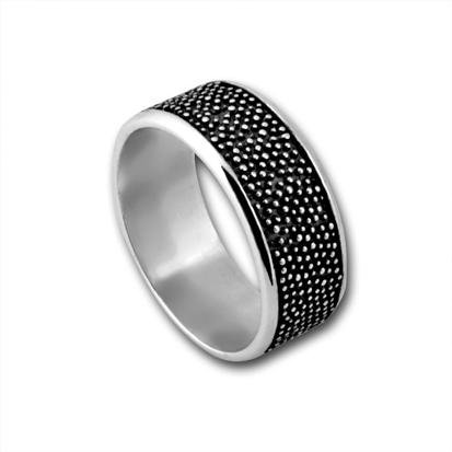 Сребърен пръстен без камък 1665213