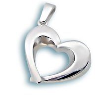 Висулки от сребро без камък - 180365