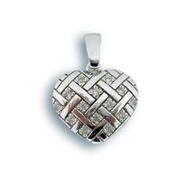 Висулки от сребро с камък - 176249
