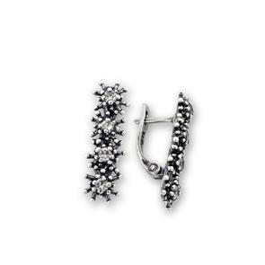 Oбици с камъни от сребро - 138057