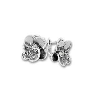 Oбици с камъни от сребро - 130911