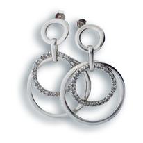 Oбеци с камъни от сребро 140200