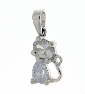 Висулка от сребро с камък 184662