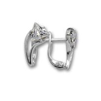 Oбици с камъни от сребро - 114243