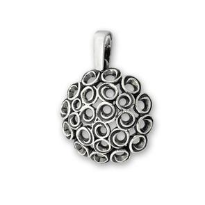 Висулки от сребро без камък - 180051