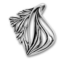 Висулки от сребро без камък - 180905