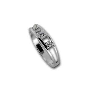 Пръстени с камък от сребро - 1625875