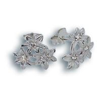 Oбици с камъни от сребро - 114339