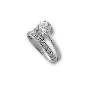 Пръстени с камък от сребро - 1625253