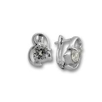 Oбици с камъни от сребро - 114244