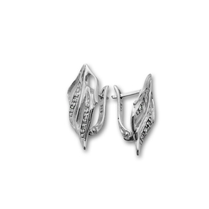 Oбици с камъни от сребро - 138543