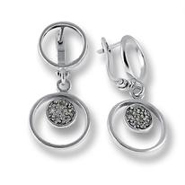 Oбици с камъни от сребро - 138446