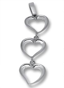 Висулки от сребро без камък - 181447