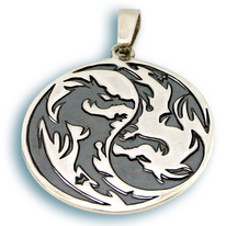 Висулки от сребро без камък - 172345