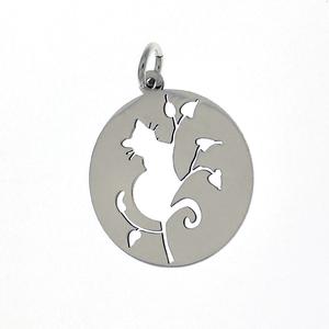 Висулки от сребро без камък - 603024
