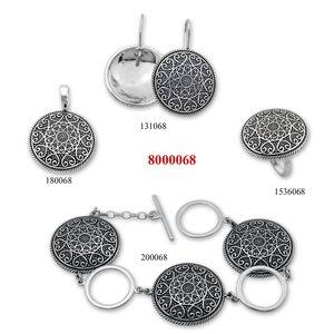 Сребърни бижута - комплект 8000068