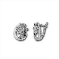 Oбици с камъни от сребро - 138458