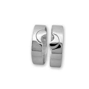 Сребърни пръстени без камък - 1665274