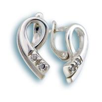 Oбици с камъни от сребро - 138763