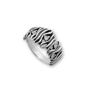 Пръстени с камък от сребро - 1616059