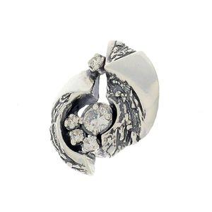 Висулки от сребро с камък - 176100