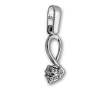 Висулки от сребро с камък - 184476