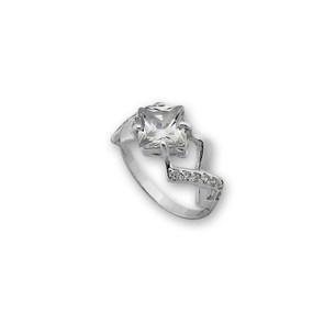 Пръстени с камък от сребро - 1626045