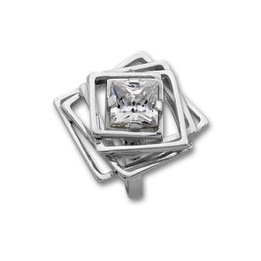 Пръстени с камък от сребро - 1595917