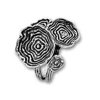Сребърни пръстени без камък - 1545944