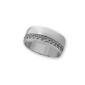 Пръстени с камък от сребро - 1615250