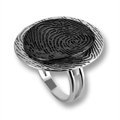 Сребърен пръстен без камък 1535852