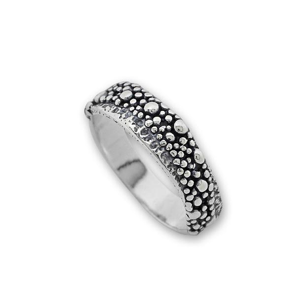 Сребърен пръстен без камък 1565254