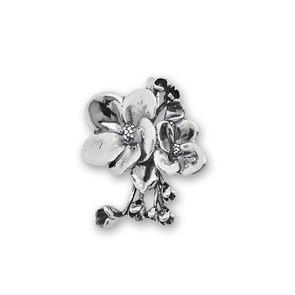 Висулки от сребро без камък - 181049