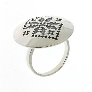 Сребърни пръстени без камък - 1536101