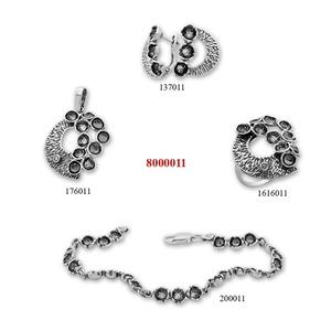 Сребърни бижута - комплекти - 8000011