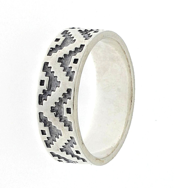Сребърен пръстен без камък 1666075