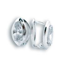 Oбици с камъни от сребро - 121156