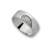 Пръстени с камък от сребро - 1585267