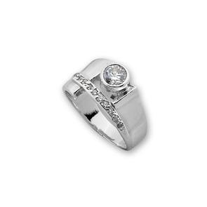 Пръстени с камък от сребро - 1615258