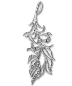 Висулки от сребро с камък - 173543