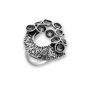 Пръстени с камък от сребро - 1616011